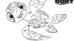 Bonanza Finding Dory Coloring Pages S Sheet Free Printable Baby