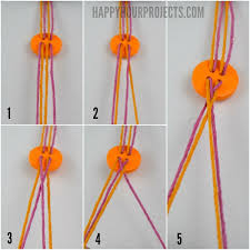 easy diy on friendship bracelets in 10 minutes or less at happyhourprojects