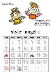 Free Printable School Calendar Free Printable Sunday School Calendars Angel Images And Angel
