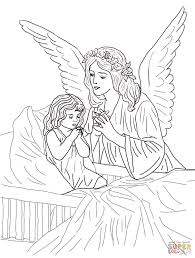 Small Picture Guardian Angel Prayers coloring page Free Printable Coloring Pages