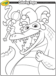 Small Picture Mardi Gras Alligator Coloring Page crayolacom