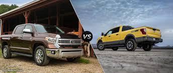 2016 Toyota Tundra vs 2016 Nissan Titan