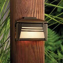 oriental outdoor lighting. kichler 15110oz zen garden 12v deck light oriental outdoor lighting