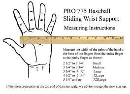 Wrist Support Pro 775 Baseball Sliding Support