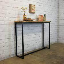 diy metal furniture. Industrial Looking Sofa Tables Diy Table Metal Back Tableindustrial With Wheelsindustrial Furniture N