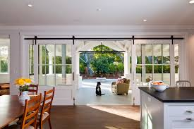 interior sliding glass french doors. Interior Sliding French Doors Entry Farmhouse With Dining Table Barn Glass
