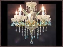 vintage handmade venetian crystal chandelier antique green leaves gorgeous lqqk