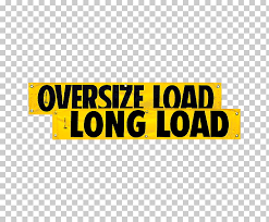 vinyl banners logo oversize load decal