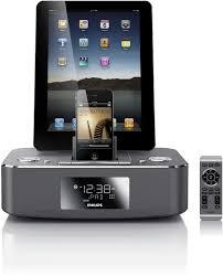 Philips DC390/37 Dual-Docking 30-Pin iPod/iPhone/iPad Alarm