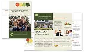 mortgage flyers templates mortgage broker brochure template design