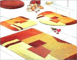 kmart red bath rugs bathroom sets big fluffy rug for comfort the new way home mat