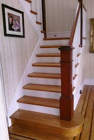 Red Oak Stair Tread more at http://awoodrailing.com