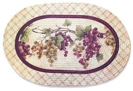 grapes grape themed kitchen rug: tuscany kitchen rug braided tuscany kitchen rug braided oval rug grapevine grapes wine decor