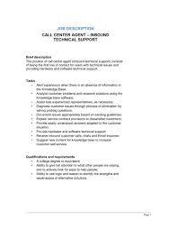 customer service call center job description classy design