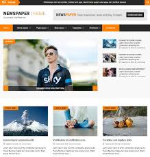 Wordpress Template Newspaper 40 Best News Newspaper And Magazine Themes Wordpress 2019