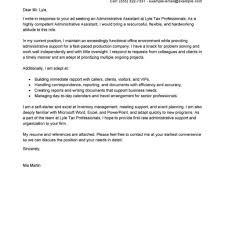 livecareer cover letter best administrative assistant cover letter examples livecareer in