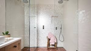Mosaic Bathroom Tile Designs Homelife Contemporary Makeover A Family Home On The Nsw Coast