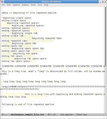 Emacs Make Whitespaces Visible