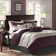 Plum Colored Bedrooms Total Fab Grey And Purple Comforter Bedding Sets