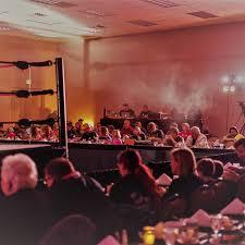 manor professional wrestling dinner