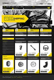 auto parts website template website template 26823 spare parts auto custom website template