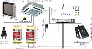 gsm sms smart house remote heating control temperature controller temperature controller wiring diagram example