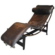 Early Le Corbusier/Jeanneret/Perriand LC4 Chaise Lounge For Sale ...