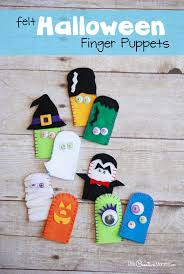 fun felt finger puppets a cool craft to make with your kids