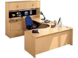 hyperwork curved corner u shaped office desk