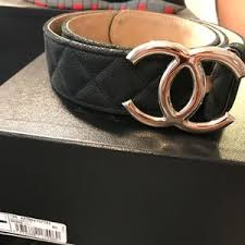 chanel belt. quilted leather chanel belt n