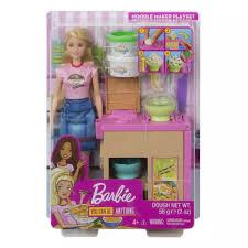 Búp bê BARBIE - Cùng Barbie làm mỳ GHK43