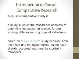 Causal Comparative Study Causal Comparative Research Design Ppt Video Online Download