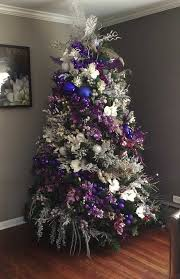 14 Magical Christmas Tree Colors And Ideas To Pull Off This Season Intended  For Purple Decorations