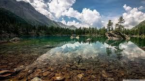 Mountain Lake Desktop Wallpapers - Top ...