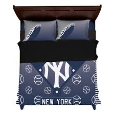 new york yankees baseball fan made duvet cover set with pillowcases allambitions