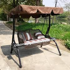 high quality 3 seater swing chair plastic swing seat swing seat