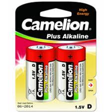 <b>Батарейка D</b> щелочная <b>Camelion</b> LR20-2BL Alkaline в блистере ...