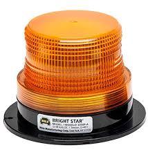 wolo lighting. Wolo (3350P-A Bright Star Emergency Warning Strobe Light - Amber Lens, Permanent Lighting