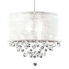 black drum shade crystal chandelier s lighting director