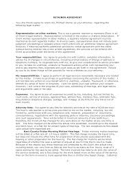Sample Retainer Agreement 24 New Retainer Agreement Letter Sample Pics Complete Letter Template 3