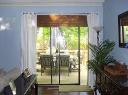 patio door valances bamboo curtains