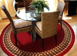 home and furniture attractive 4 foot round rugs at charisma indoor outdoor ft braided rug