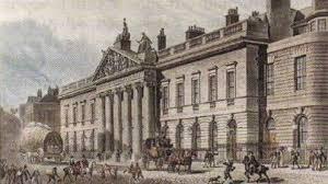 Колониальная и внешняя политика Великобритании в xix веке Новая  Здание Ост Индской компании в Лондоне Гравюра начала xix в