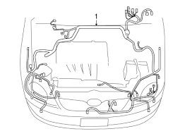 genuine oem wiring harness parts for 2007 toyota corolla s electrical wiring harness for 2007 toyota corolla 1