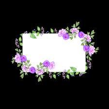 flower photo frame flower photo frame spring background spring photo frame png and