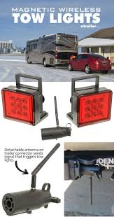 Tractor Supply Magnetic Trailer Lights Pilot Magnetic Tow Lights Red Leds 4 Way Flat And 7 Way