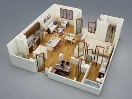 Bedroom : Surprising Shaped 2 Bedroom Apartment | Interior Design ...