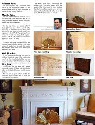 faux fireplace mantle plans faux fireplace mantle plans