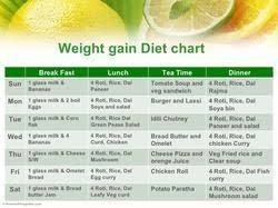 Diet Food Chart For Weight Gain Weight Gain Diet In New Delhi Tilak Nagar By Infinite