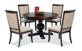 dining room table sets round 5 piece dining set with side chairs dining table chairs